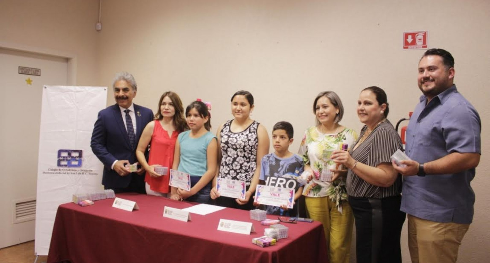 Inicia Colegio de Ortodoncia tratamiento a 56 niños