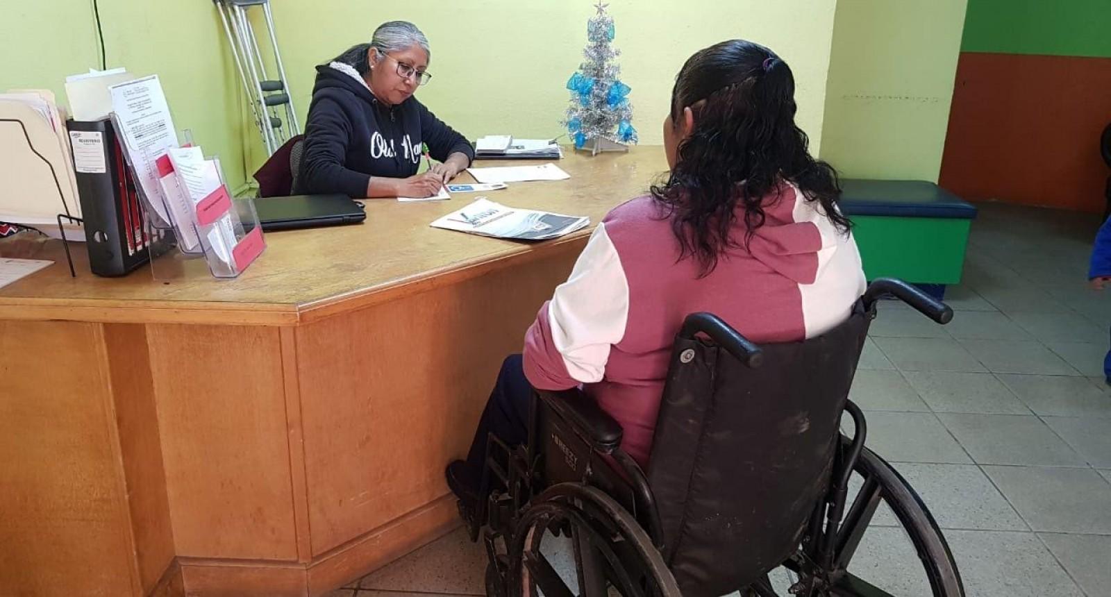 Invitan a tramitar el tarjetón de discapacidad