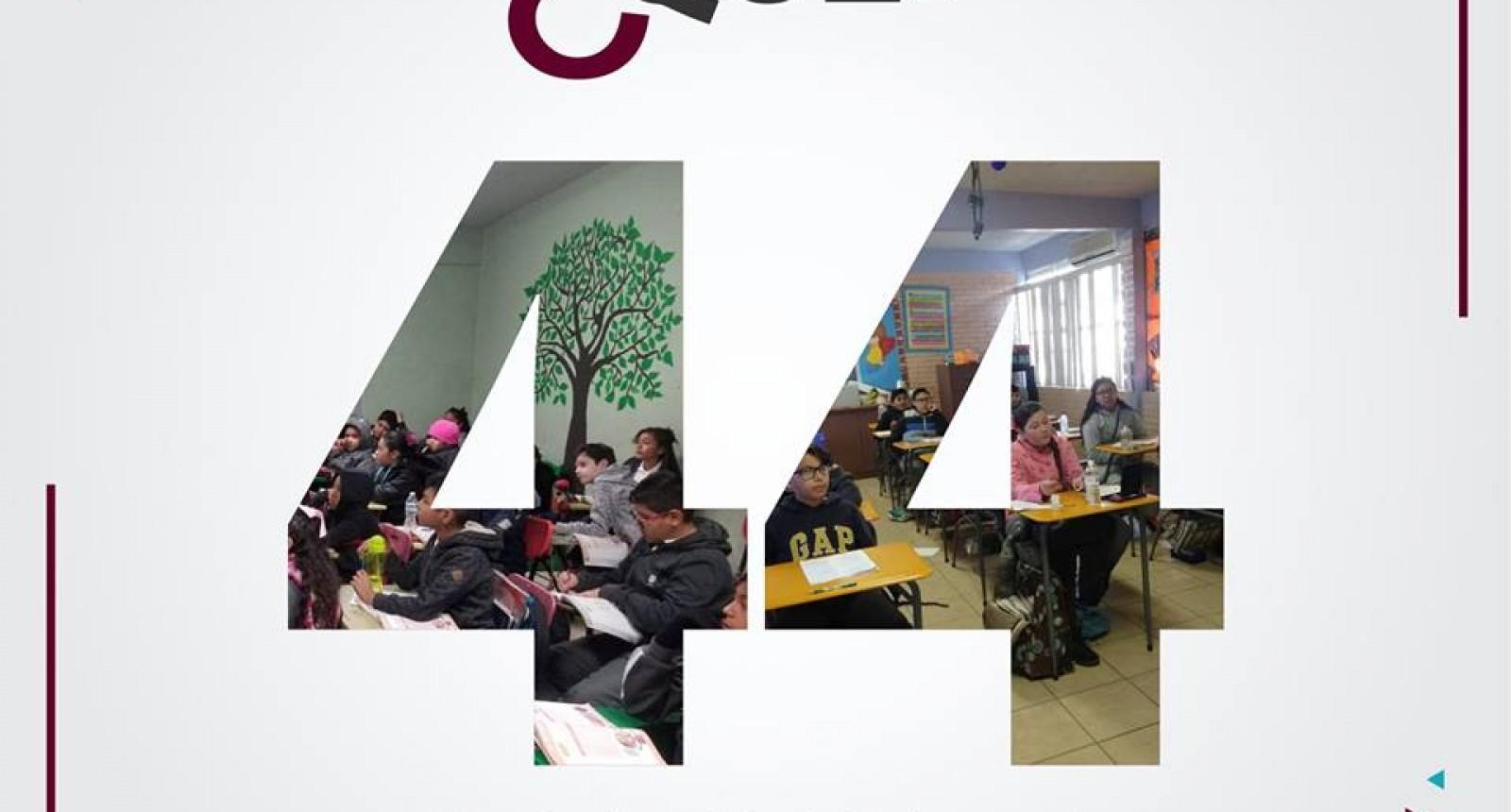 44 escuelas han sido visitadas por el Departamento de Cultura del agua