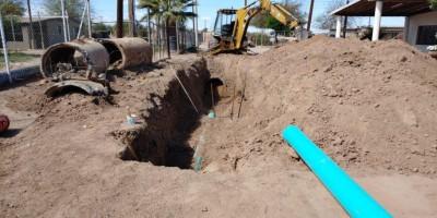 Amplía Oomapas servicio de drenaje en el municipio