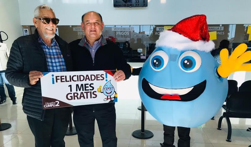 Felicita Alcalde a ganadores del Programa Usuario Cumplido
